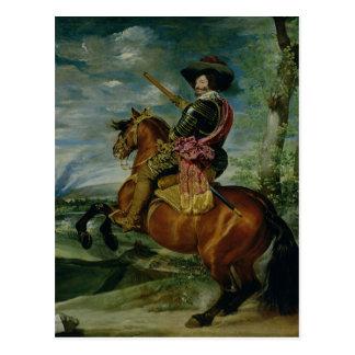 Retrato ecuestre de Don Gaspar de Guzman Postal