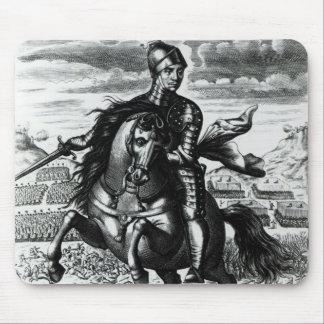 Retrato ecuestre de Oliver Cromwell Alfombrilla De Raton