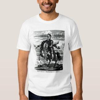 Retrato ecuestre de Oliver Cromwell Camisas