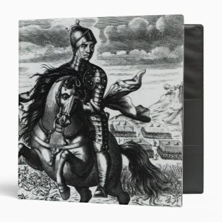 """Retrato ecuestre de Oliver Cromwell Carpeta 1 1/2"""""""