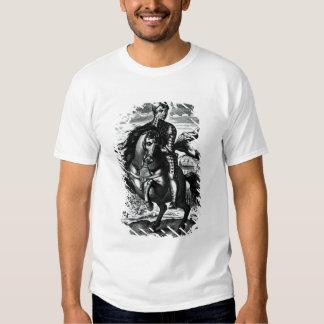 Retrato ecuestre de Oliver Cromwell Polera