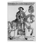 Retrato ecuestre de Philip II de España Tarjetas