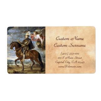 Retrato ecuestre de Philip II Peter Paul Rubens Etiqueta De Envío
