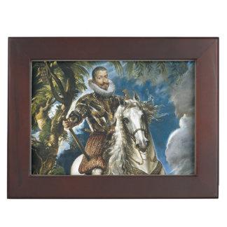 Retrato ecuestre del duque de Lerma Rubens Cajas De Recuerdos