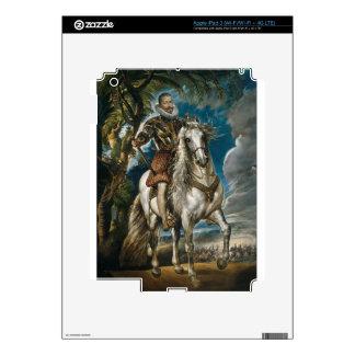 Retrato ecuestre del duque de Lerma - Rubens iPad 3 Skins