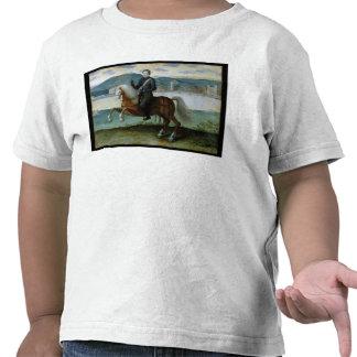 Retrato ecuestre del rey de Enrique IV de Camiseta