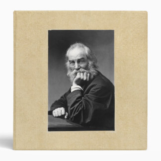"""Retrato esencial de Walt Whitman Carpeta 1 1/2"""""""