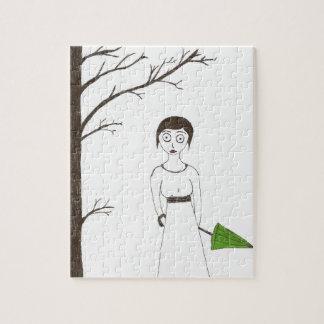 Retrato espeluznante 2 del arroz de Jane Austen Puzzle