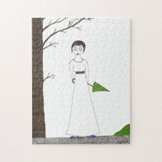 Retrato espeluznante del arroz de Jane Austen Rompecabeza Con Fotos