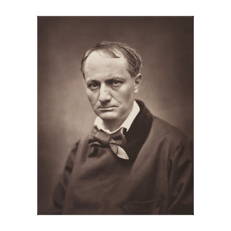 Retrato Étienne Carjat de Charles Pedro Baudelaire Lona Estirada Galerías