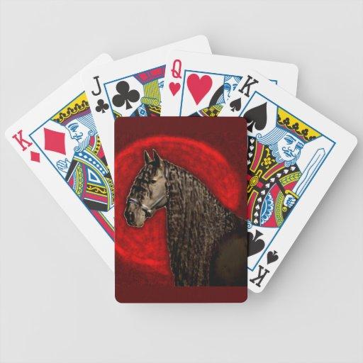 Retrato frisio baraja de cartas