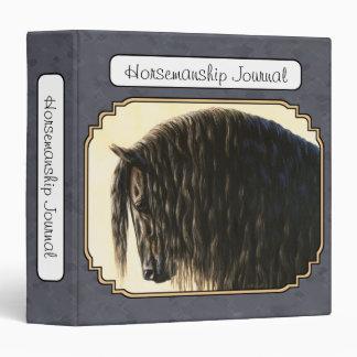 Retrato frisio del caballo