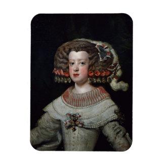 Retrato fut de Maria Teresa de la infanta de los 1 Rectangle Magnet