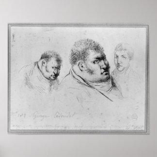 Retrato Georges Cadoudal del 25 de mayo de 1804 Poster