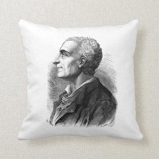 Retrato grabado al agua fuerte de Montesquieu de E Cojines