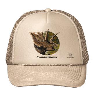 Retrato Gregory Paul de Pentaceratops del gorra de