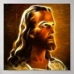 Retrato hermoso 2 de Jesús Poster