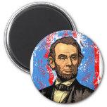 Retrato hermoso de Abraham Lincoln Iman De Frigorífico