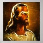 Retrato hermoso de Jesús Posters