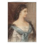 Retrato hermoso de la emperatriz Elisabeth - Sisi Tarjetas