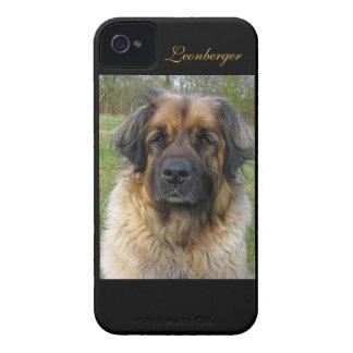 Retrato hermoso de la foto del perro de iPhone 4 Case-Mate fundas