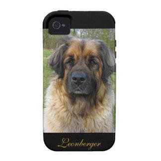 Retrato hermoso de la foto del perro de vibe iPhone 4 fundas