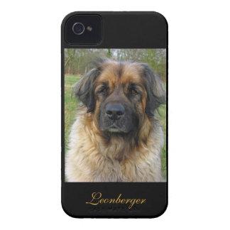 Retrato hermoso de la foto del perro de Case-Mate iPhone 4 protectores