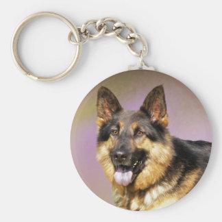 Retrato hermoso del perro de pastor alemán