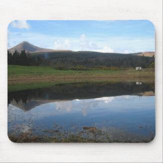 Retrato impresionante del paisaje de GoatFell Alfombrilla De Raton