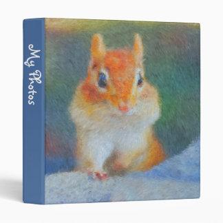 Retrato impresionista 1 del Chipmunk álbum de fot