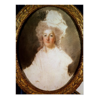 Retrato inacabado de Marie-Antonieta Posters