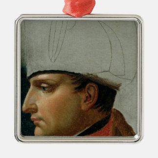 Retrato inacabado de Napoleon I Ornatos