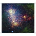 Retrato infrarrojo que revela las estrellas y el fotografía