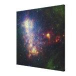 Retrato infrarrojo que revela las estrellas y el impresiones en lona