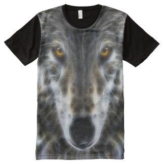 Retrato inspirado del lobo