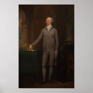 Retrato integral de Alexander Hamilton Póster