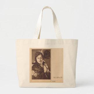 Retrato joven 1923 del senorita de Clara Kimball s Bolsas