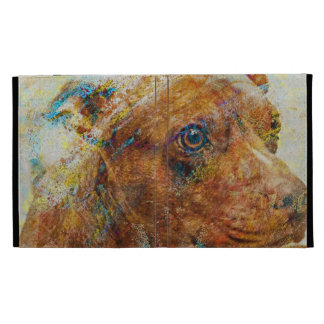 retrato kalimagic del perro del perrito del RASGÓN