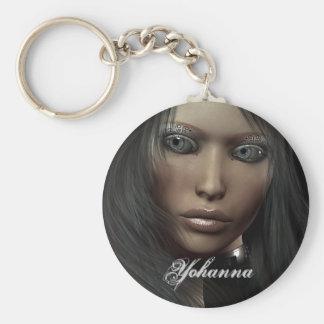 Retrato Keyhanger del Em Llavero Redondo Tipo Pin