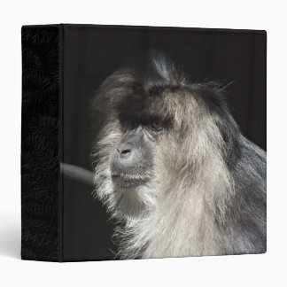 Retrato León-Atado del Macaque