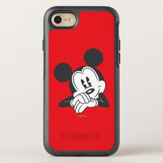 Retrato lindo clásico de Mickey el   Funda OtterBox Symmetry Para iPhone 7