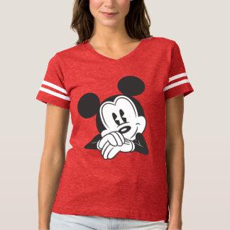 Retrato lindo clásico de Mickey el | Playera