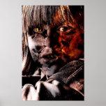 Retrato malvado poster
