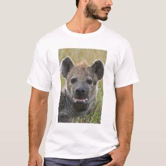 Retrato manchado del Hyena, croduta del Crocuta, Playera