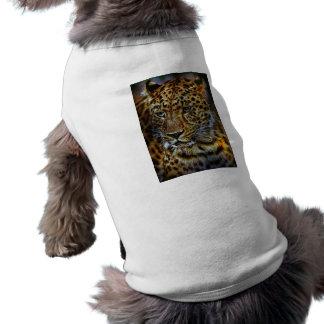 retrato más rauptier del animal salvaje del parque playera sin mangas para perro