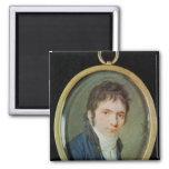 Retrato miniatura de Ludwig van Beethoven, 1802 Iman De Frigorífico