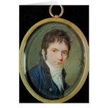Retrato miniatura de Ludwig van Beethoven, 1802 Felicitacion