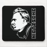 Retrato Mousepad de Frederich Nietzsche Alfombrilla De Ratón