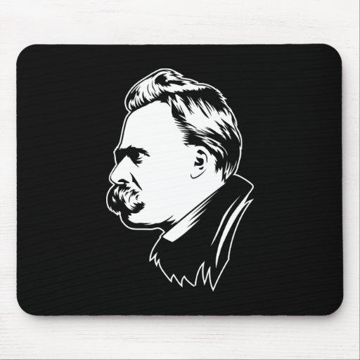 Retrato Mousepad de Frederich Nietzsche Alfombrilla De Raton