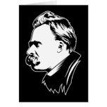 Retrato Mousepad de Frederich Nietzsche Tarjeta